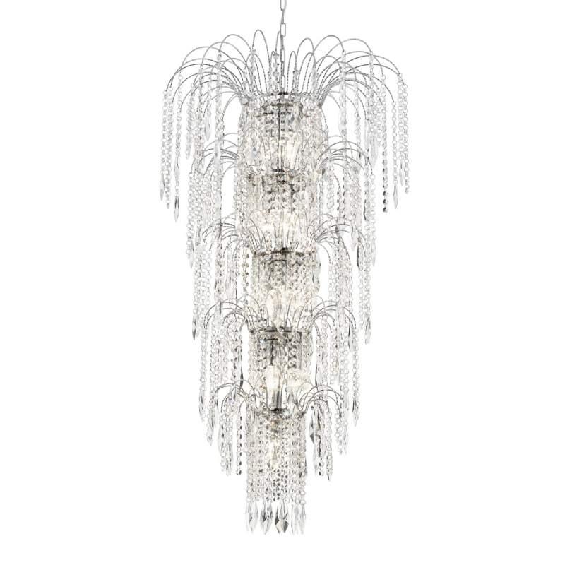 Imposante hanglamp WATERFALL
