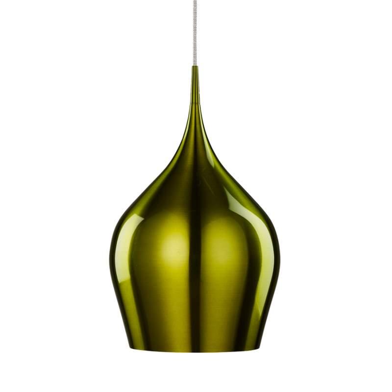 Hanglamp Vibrant in mooi groen