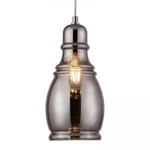 Hanglamp Olsson in vintage stijl zwart