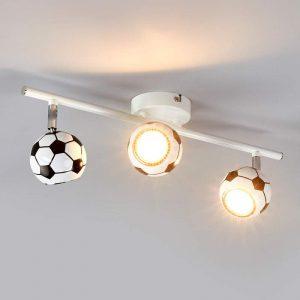 3-lichts Voetbal-plafondlamp Play met LED-licht