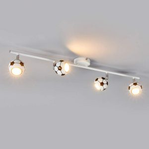 Play - leuke LED-plafondlamp in voetballook