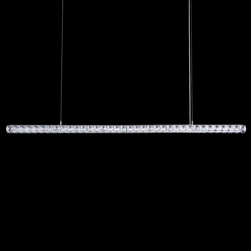 Kristallen led hanglamp Dionia v. Swarovski 155cm