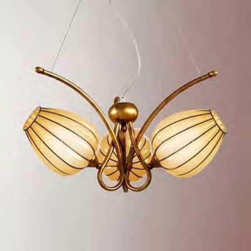 Betoverende hanglamp GEMMA, handgemaakt