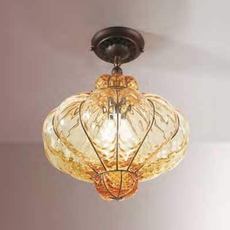 Plafondlamp SULTANO van Muranoglas, 37 cm