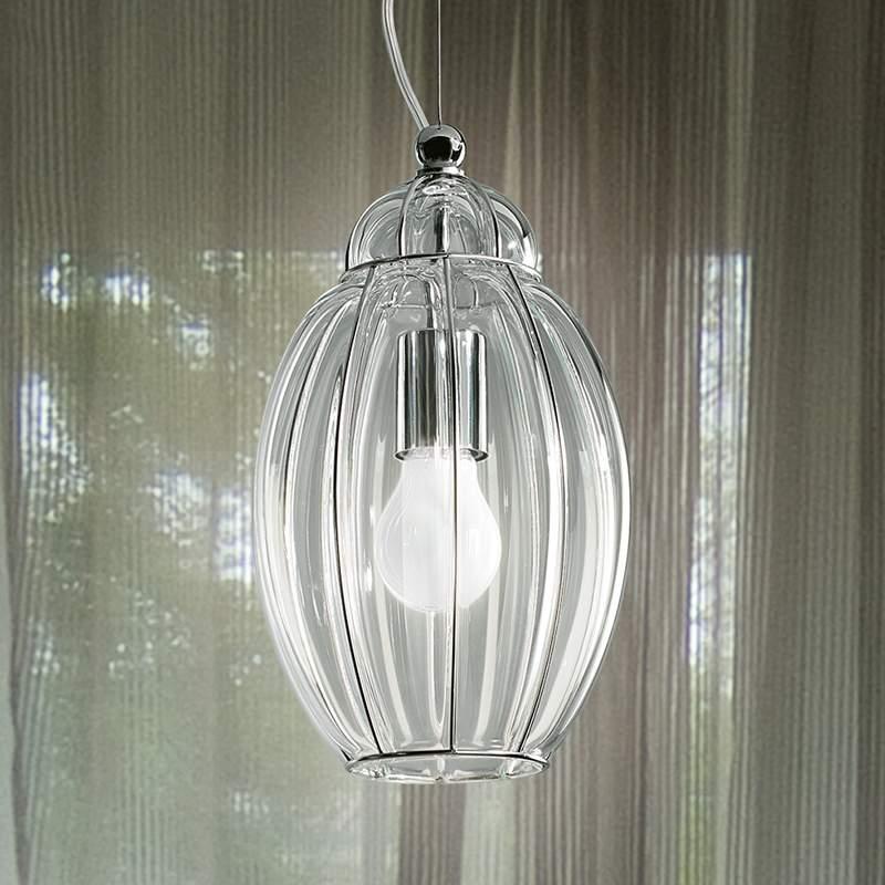 Transparante hanglamp NAUTILUS