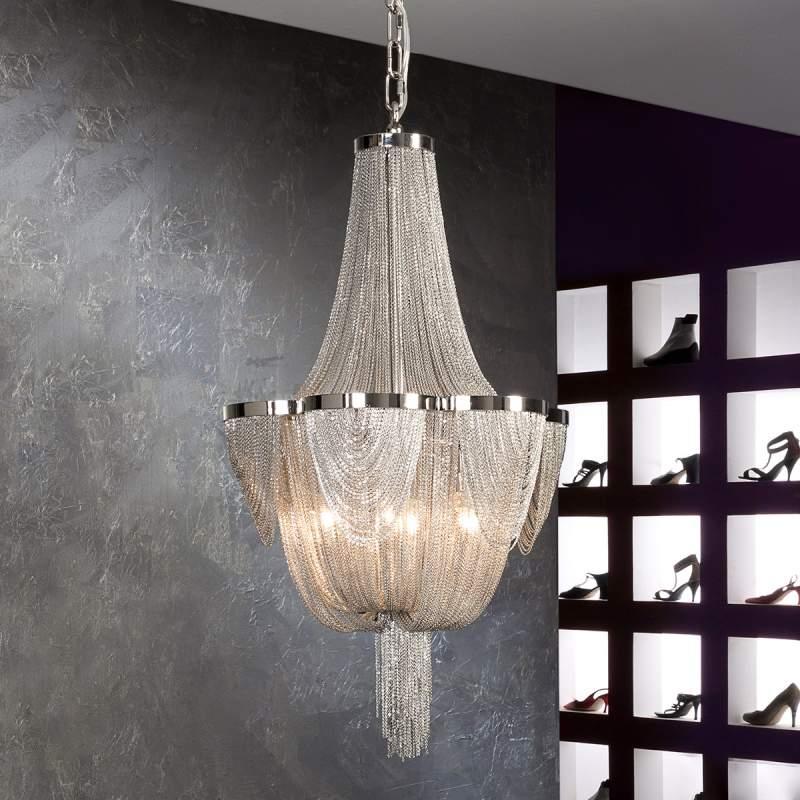 Metalen hanglamp Minerva