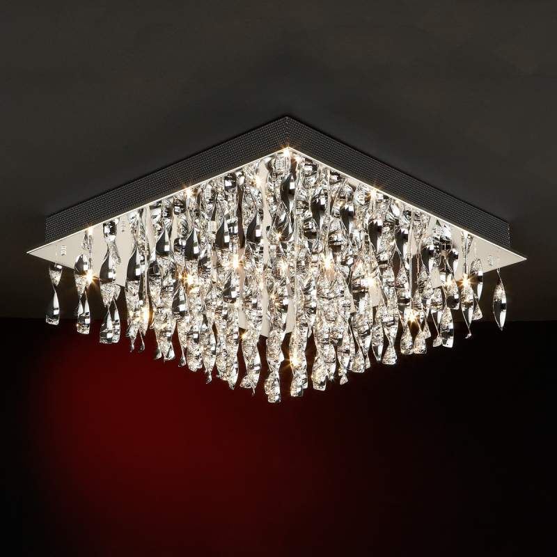 Espiral - kunstzinnig ontworpen plafondlamp
