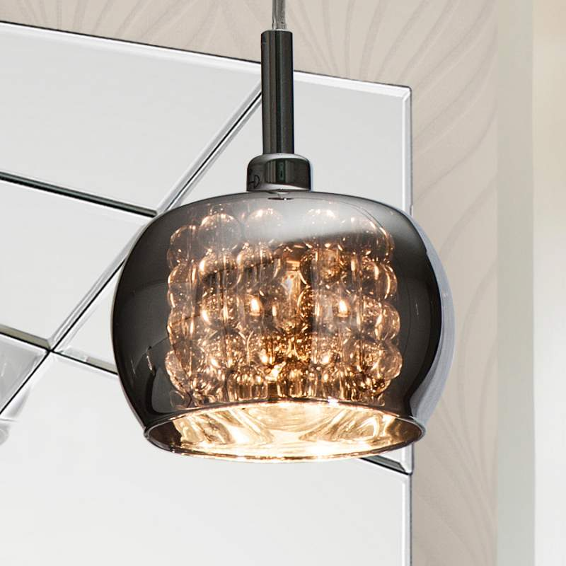 Glanzende hanglamp Nora