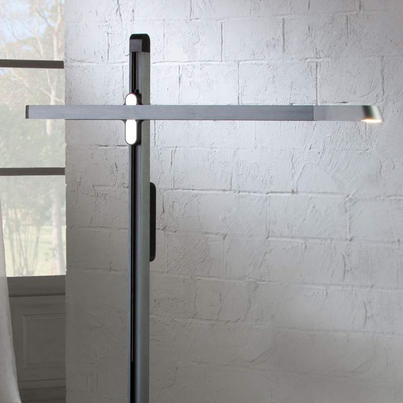 Tecton - een moderne, flexibele LED staande lamp