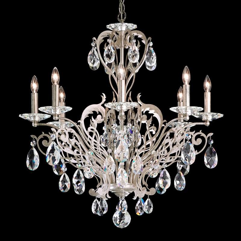 Spectaculaire kroonluchter Filigrae, antiek zilver