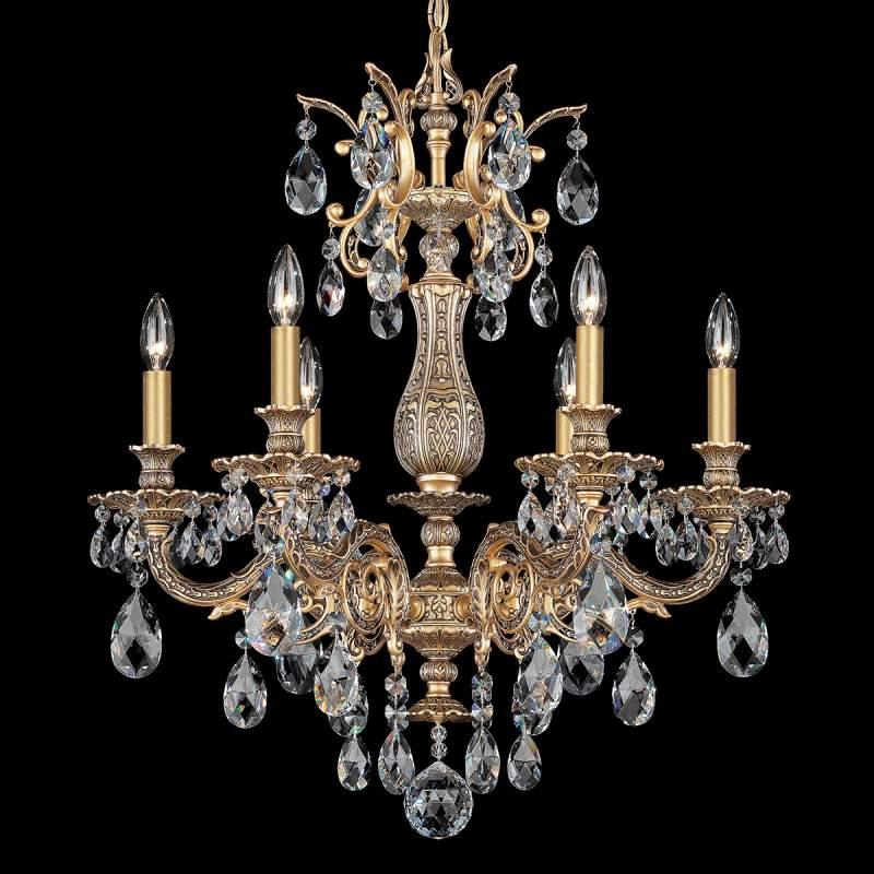Stralend mooie kristallen kroonluchter Milano