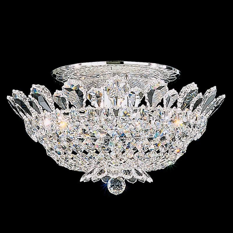 Luxe kristallen plafondlamp Trilliane