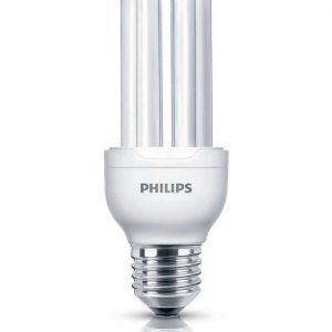 Philips Genie ESaver 11W 827 E27 | Zeer Warm Wit