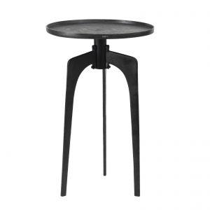 PTMD Bijzettafel Table Alu Black