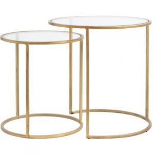 Light & Living Side table DUARTE gold