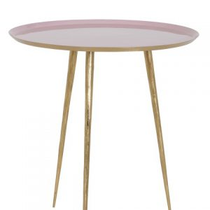 Light & Living Side table FIGINO pink