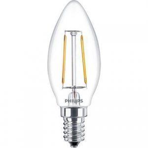 Philips Classic LEDcandle E14 B35 2.5W 827 Helder | Vervangt 25W