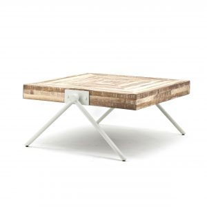 Coffeetable square small - white