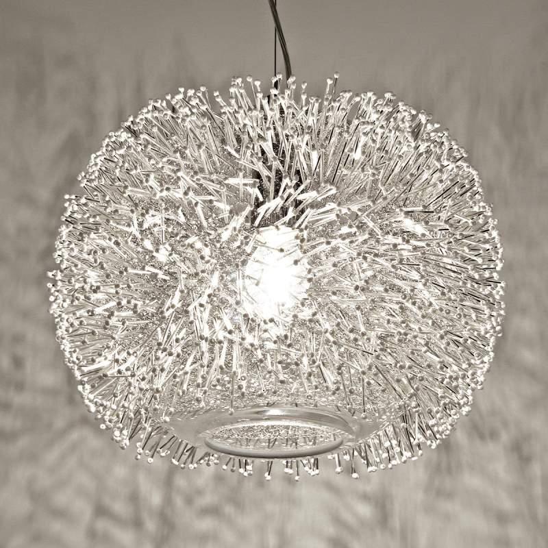 Kristallijne hanglamp Sea Urchin