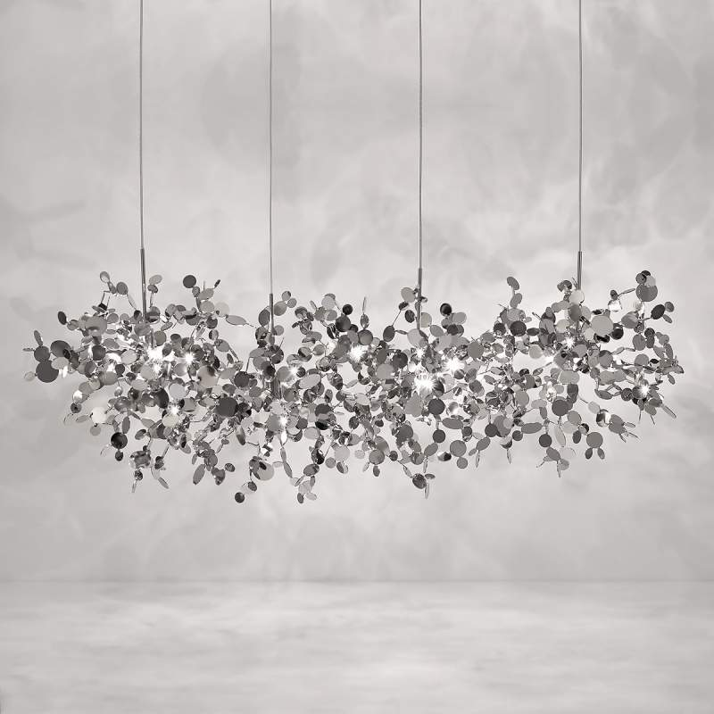 Zwevende hanglamp Argent, 125 cm