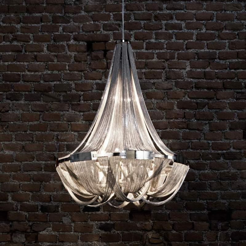Weelderige designer hanglamp Soscik, 72 cm