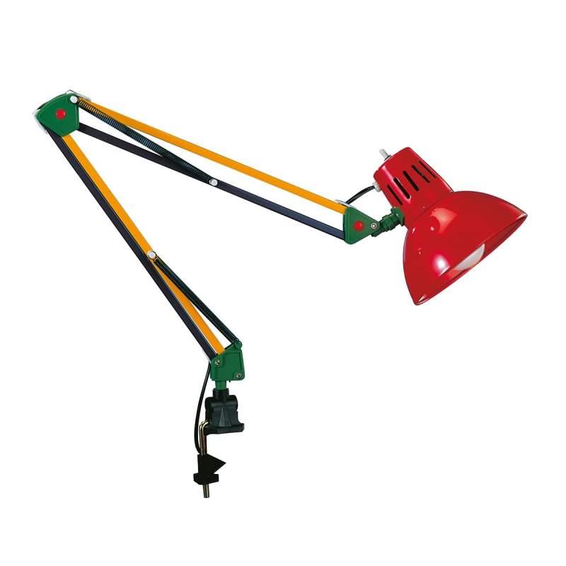 Kleurige klemlamp TALIDA