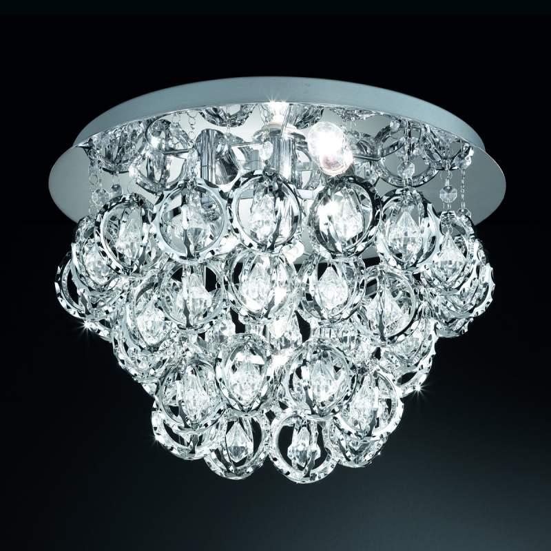 Sierlijke plafondlamp ELEGANCE