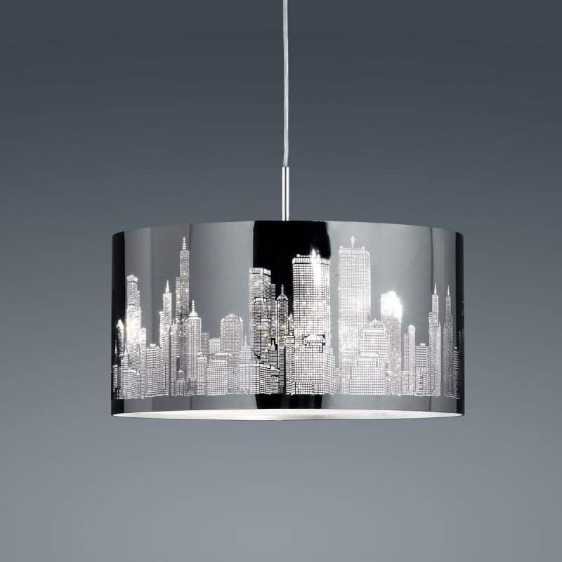 Roestvrijstalen hanglamp Skyline