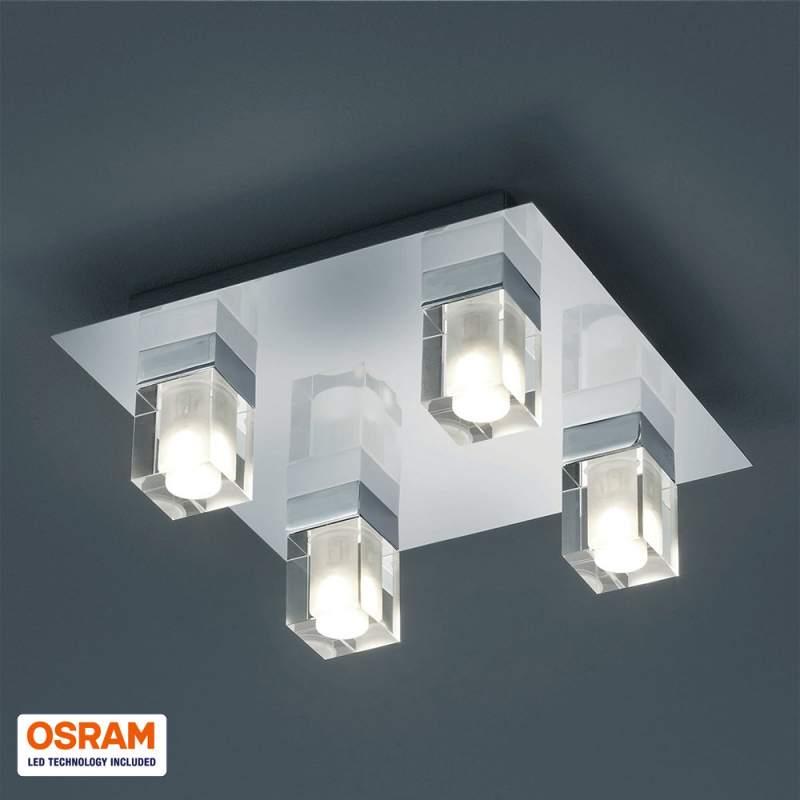 Voor vochtige ruimtes - LED plafondlamp Ira IP44