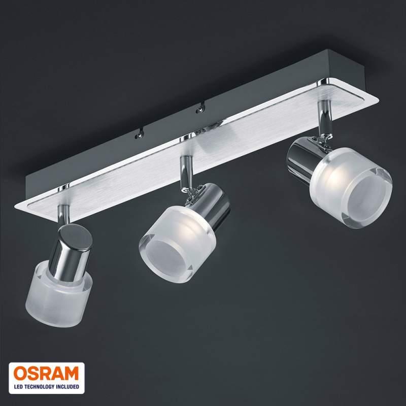 Heldere LED plafondlamp Gaye 3 lichtbr.