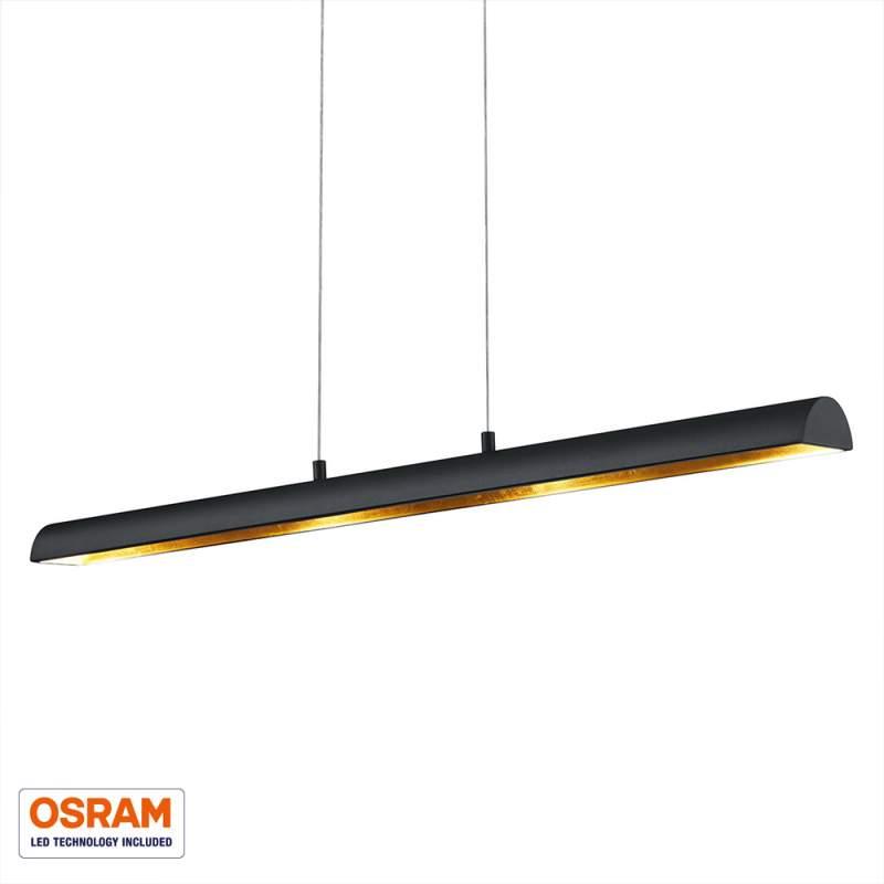 Langwerpige LED hanglamp Ramiro