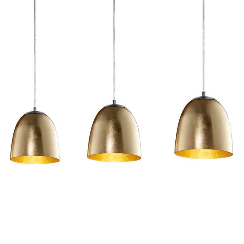 Hanglamp Ontario uit glas met 3 lichtbronnen