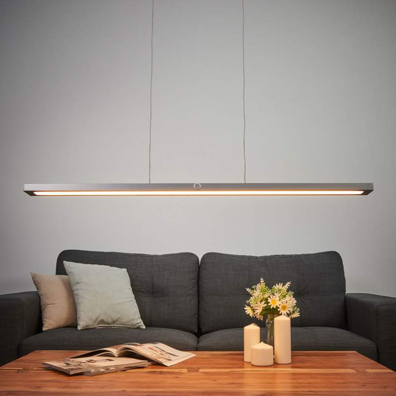 Inclusief aanraakdimmer - LED pendellamp Silas