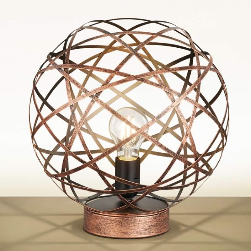 Mooie tafellamp Jacob antiek koper
