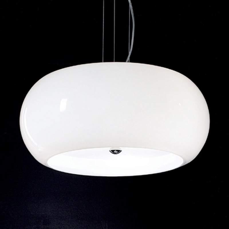 Witte hanglamp BULLEA