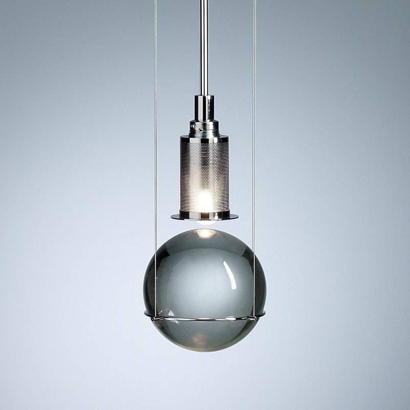 Design-hanglamp LE TRE STREGHE, chroom