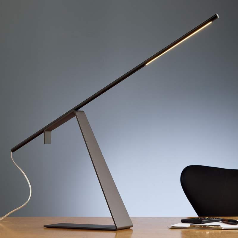 Verchroomde led design tafellamp Jella