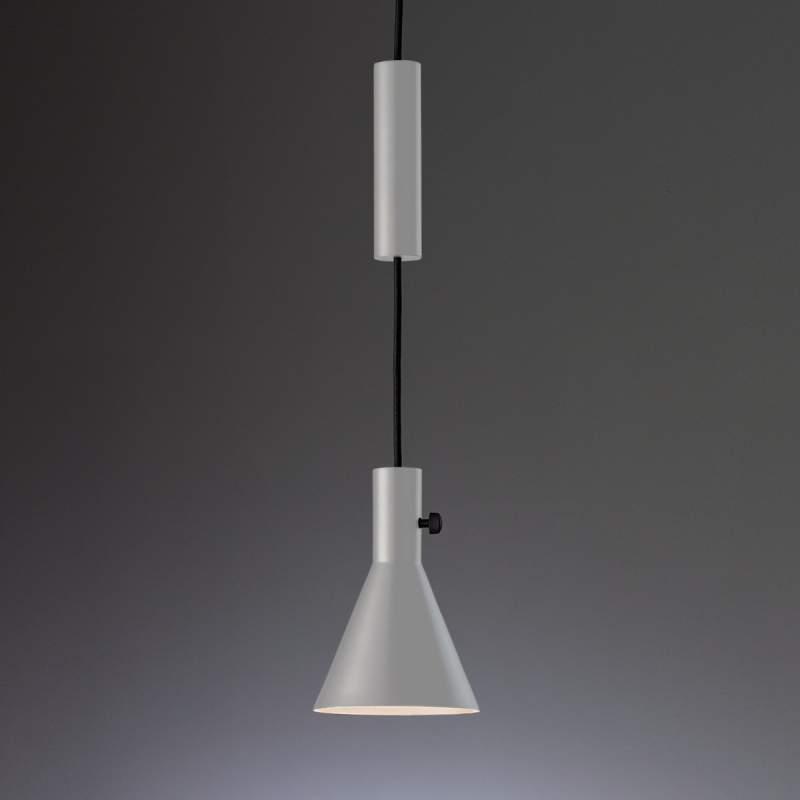 Grijze designer led hanglamp Eleu
