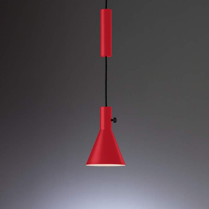 Top moderne led hanglamp Eleu in rood