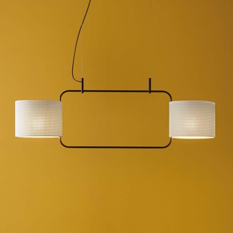 Opklapbare designer hanglamp Loop