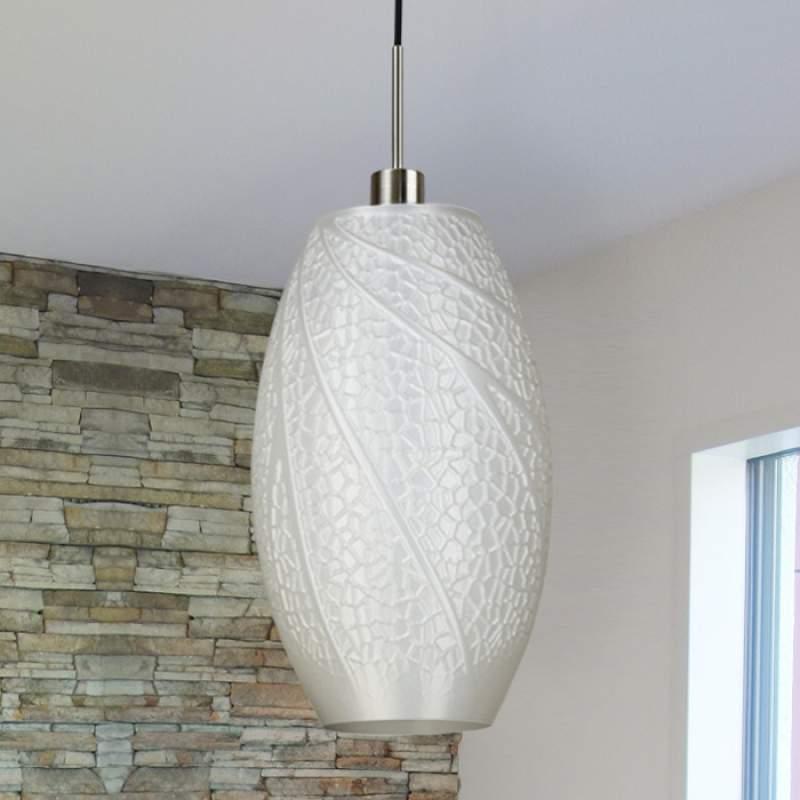 Flora - design-hanglamp van de 3D-printer
