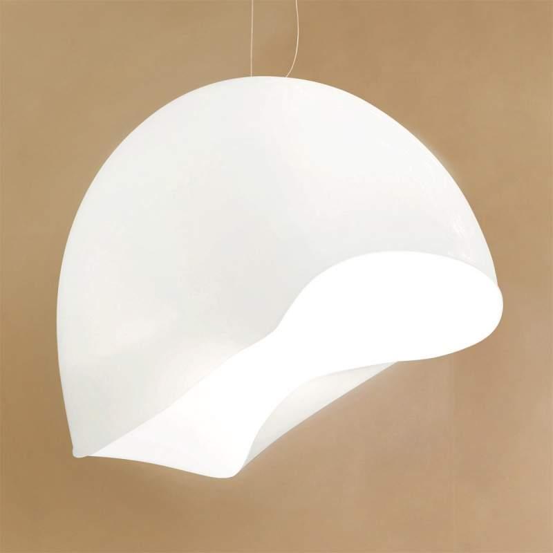 Witte hanglamp NINFEA