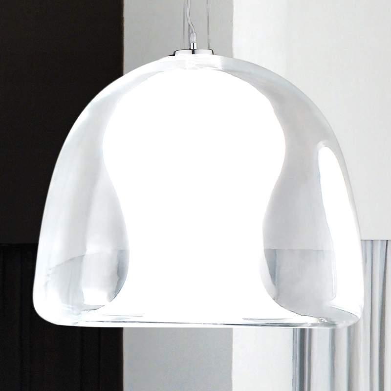 Bijzondere hanglamp NARANZA, 40 cm, wit