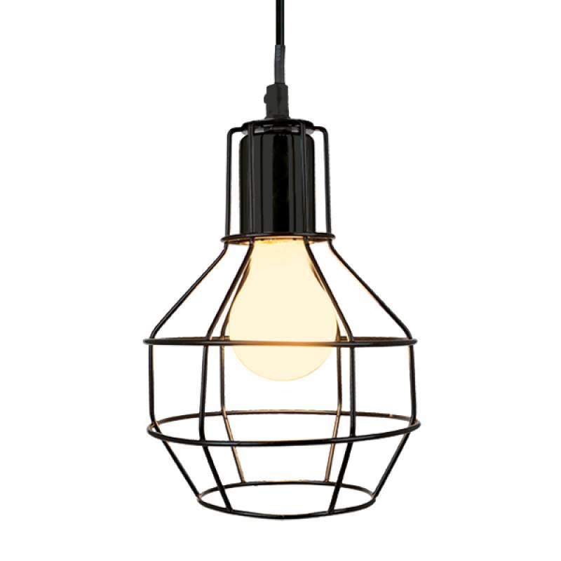 Hanglamp Plex met roosterscherm, 15 cm diameter