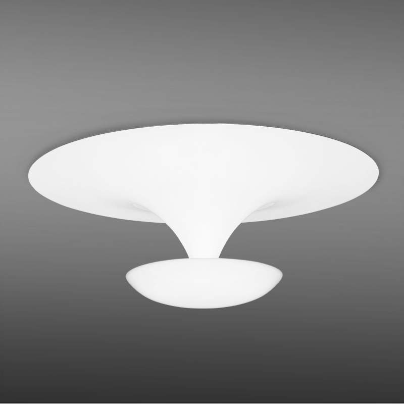 Plafondlamp Funnel, 50 cm, wit