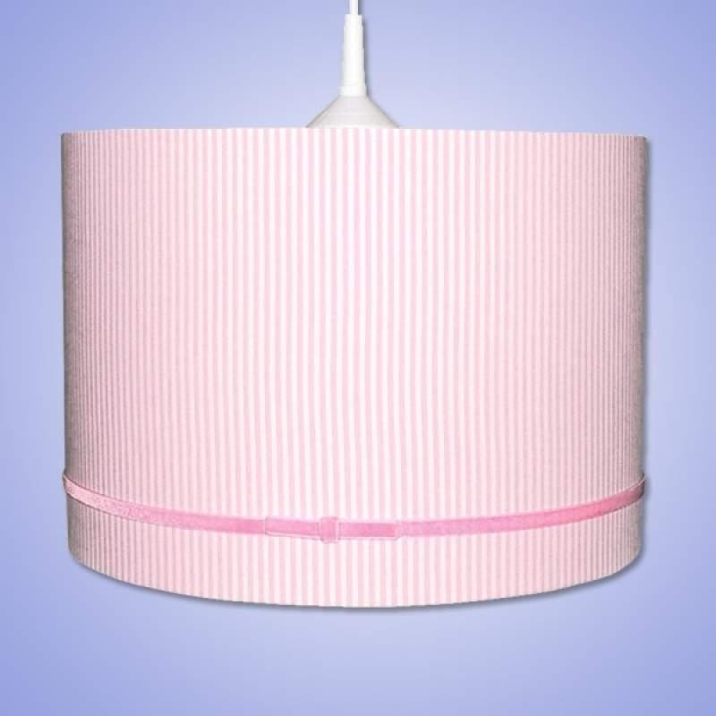 Fraaie hanglamp ESTRIA FLUWEEL, roze