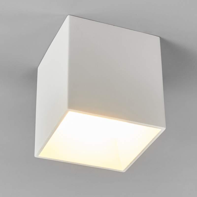 Afwerkbare LED gips plafondlamp Emia