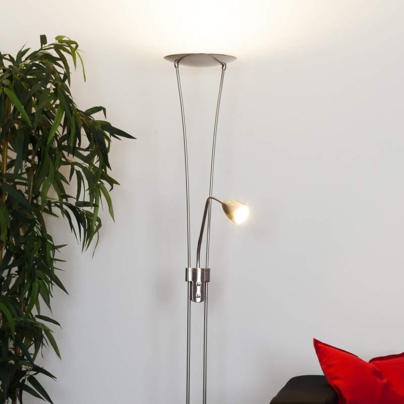 Yohann - LED-plafondspot, nikkel mat