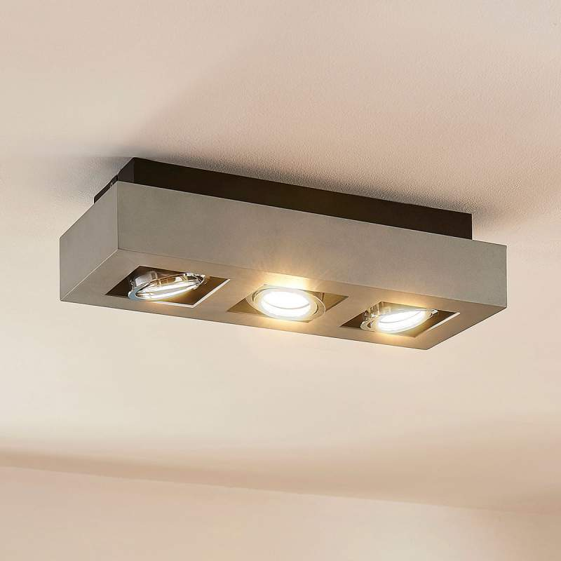 3-lamps plafondlamp Vince