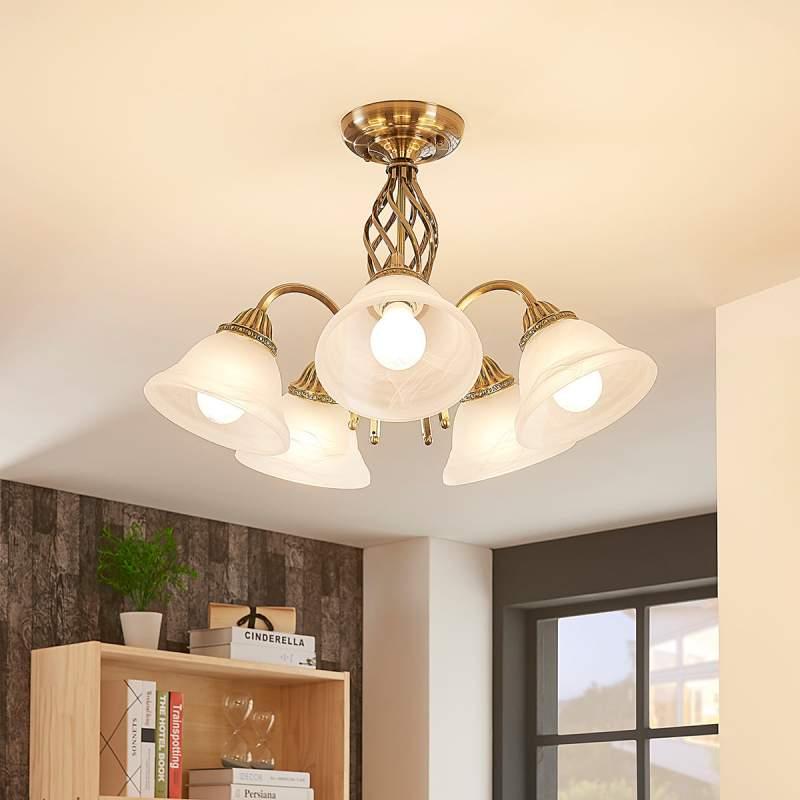 Mialina - 5-lamps plafondlamp
